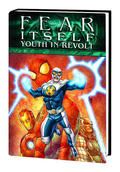 Image: Fear Itself: Youth in Revolt HC  - Marvel Comics