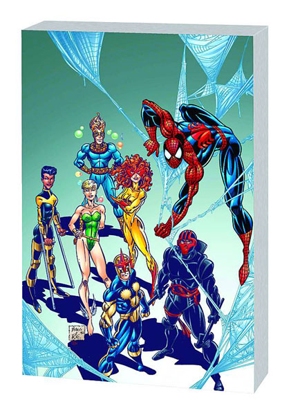 Image: Spider-Man & the New Warriors: Hero Killers SC  - Marvel Comics