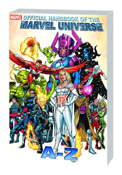 Image: Official Handbook of the Marvel Universe A to Z Vol. 04 SC  - Marvel Comics