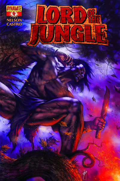 Image: Lord of the Jungle #4 - Dynamite