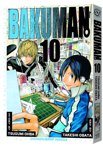 Image: Bakuman Vol. 10 SC  - Viz Media LLC