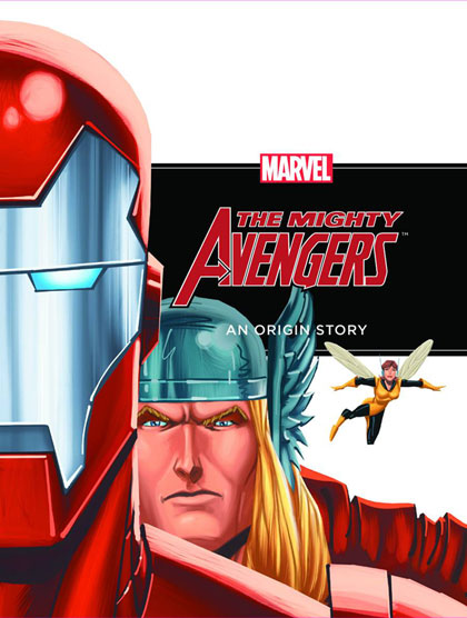 Image: Mighty Avengers: An Origin Story HC  -