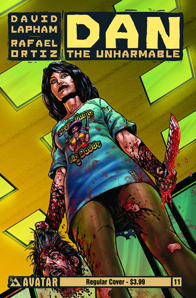 Image: Dan the Unharmable #11 - Avatar Press Inc