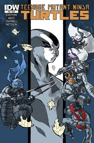 Teenage Mutant Ninja Turtles #32 - IDW Publishing
