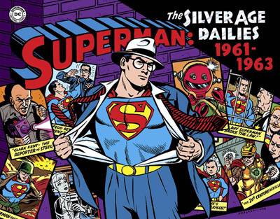 Image: Superman: The Silver Age Dailies Vol. 02: 1961-1963 HC  - IDW Publishing