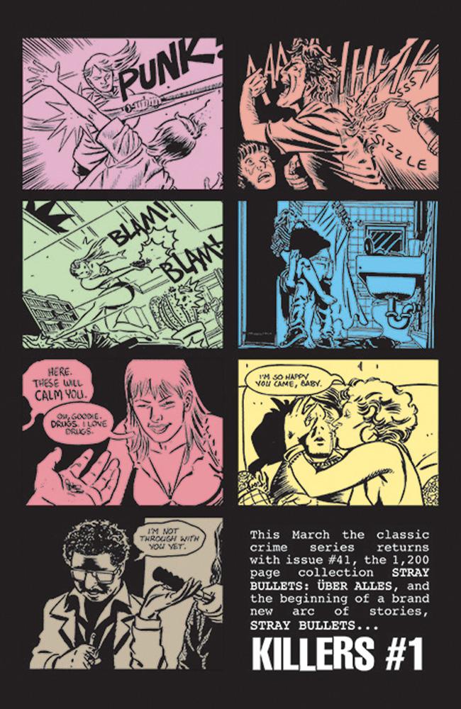 Stray Bullets #41 - Image Comics