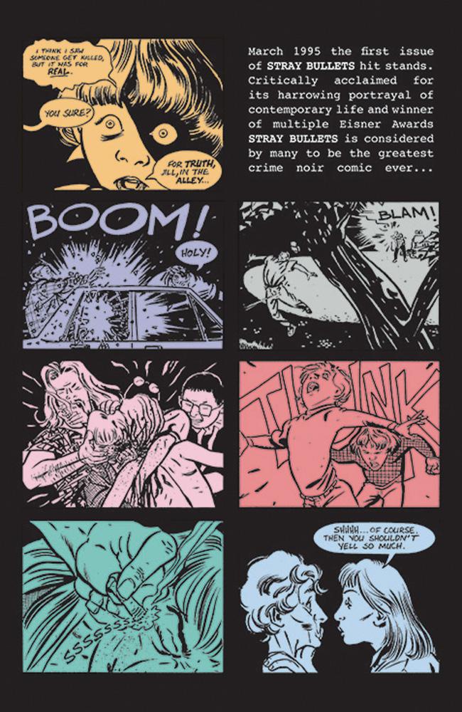 Stray Bullets: Uber Alles Edition SC  - Image Comics