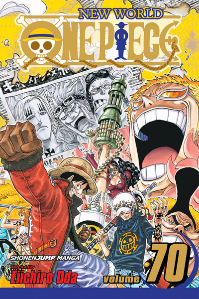 Image: One Piece Vol. 70 SC  - Viz Media LLC