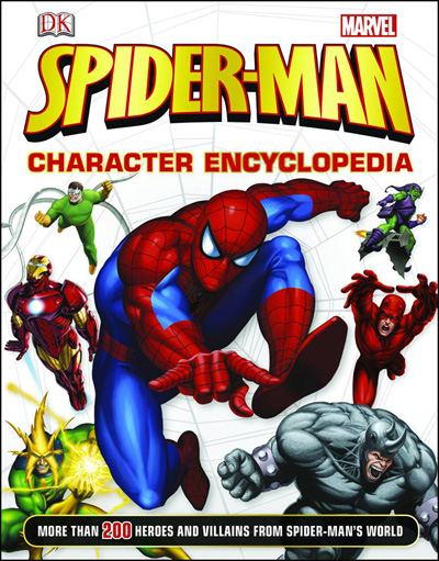 Image: Spider-Man Character Encyclopedia HC  - DK Publishing Co