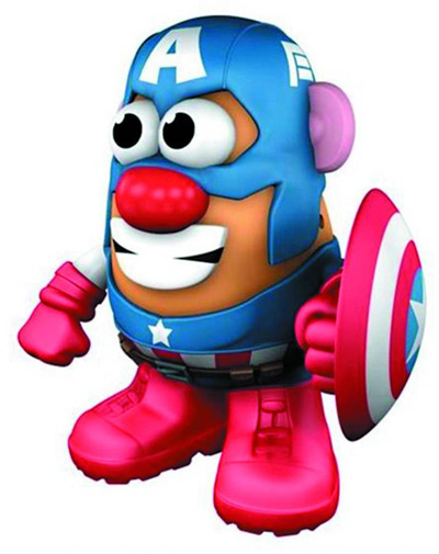 Image: Mr. Potato Head: Captain America  -