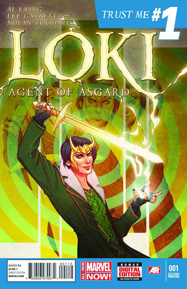 Image: Loki, Agent of Asgard #1 (variant 2nd printing cover - Jenny Frison)  [2014] - Marvel Comics
