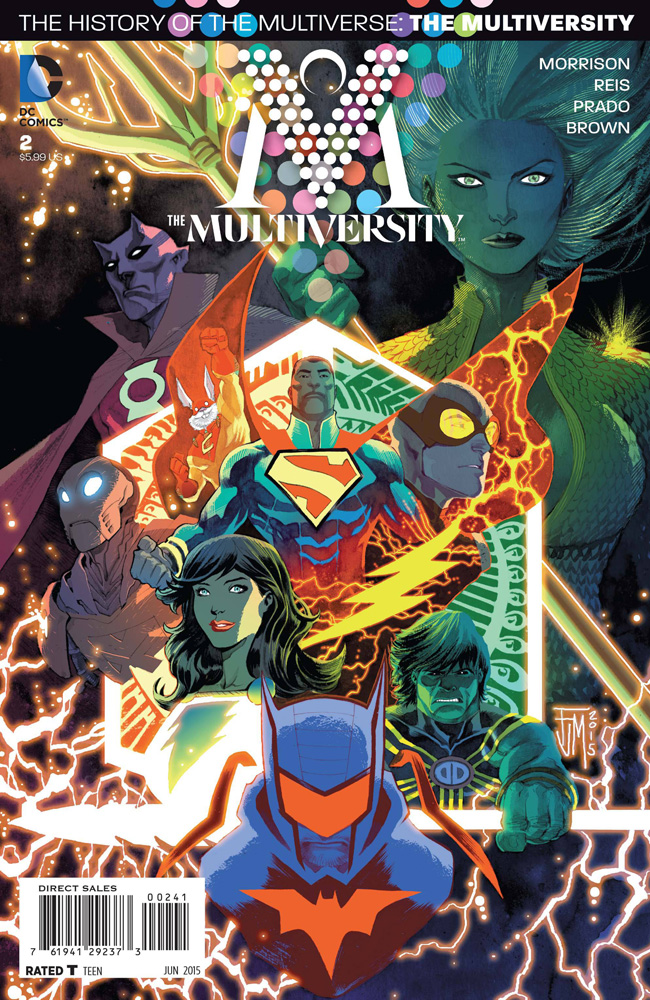 Image: Multiversity #2 (Manapul variant cover - 00241) - DC Comics