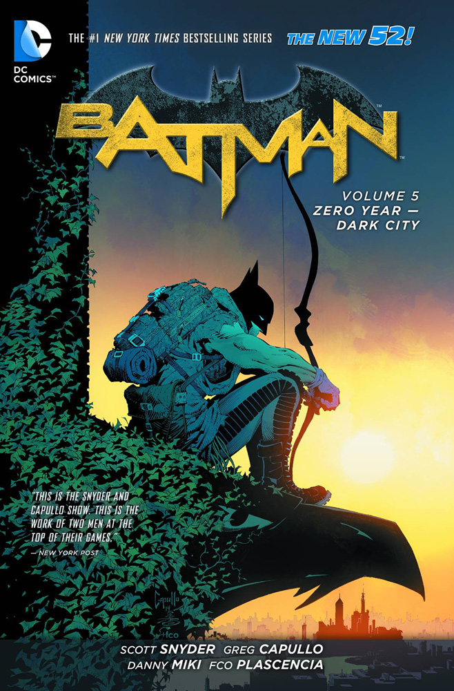 Image: Batman Vol. 05: Zero Year - Dark City SC  (N52) - DC Comics