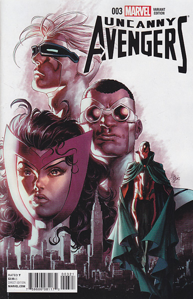 Image: Uncanny Avengers #3 (Deodato variant cover - 00321) - Marvel Comics