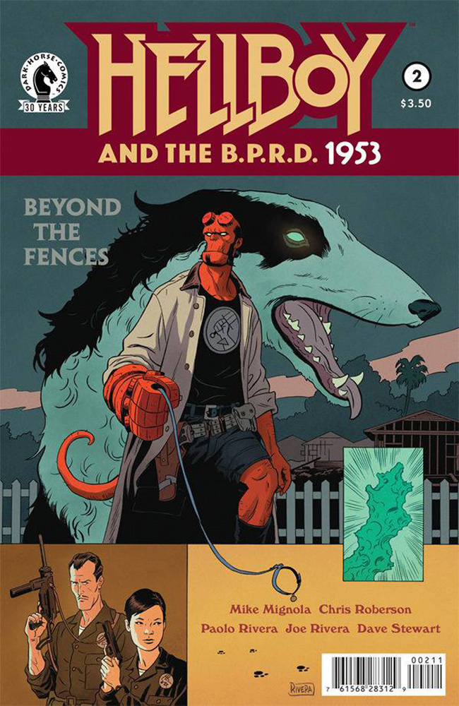 Image: Hellboy and the B.P.R.D.: 1953 - Beyond the Fences #2 - Dark Horse Comics