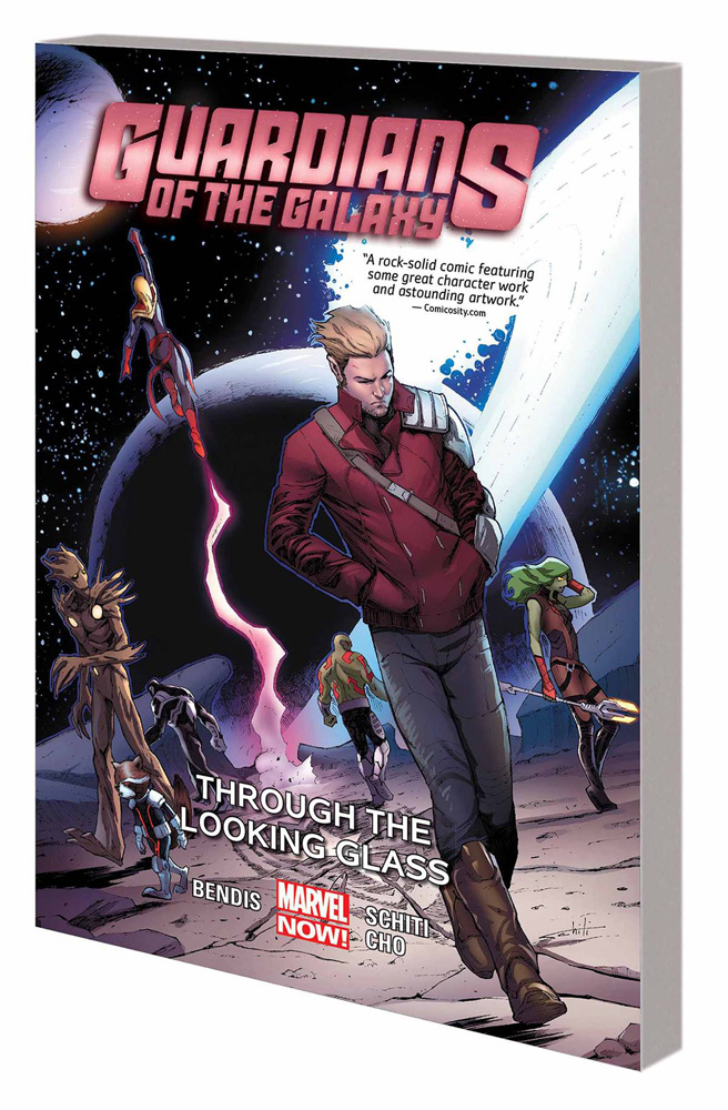 Image: Guardians of the Galaxy Vol. 05: Through the Looking Glass SC  - Marvel Comics