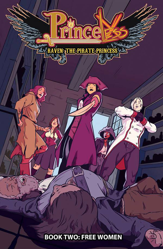 Image: Princeless: Raven the Pirate Princess Vol. 02: Free Women SC  - Action Lab Entertainment