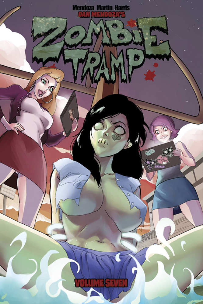 Image: Zombie Tramp Vol. 07: Bitch Craft SC  - Action Lab - Danger Zone