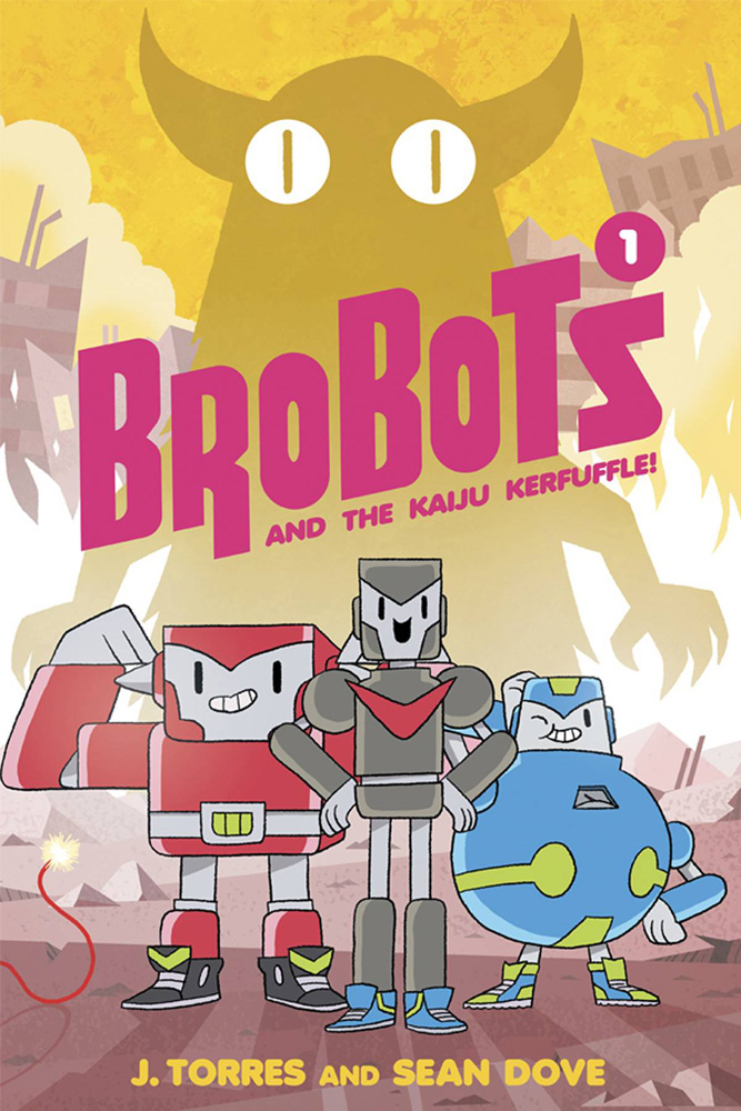 Image: Brobots and the Kaiju Kerfuffle HC  - Oni Press Inc.