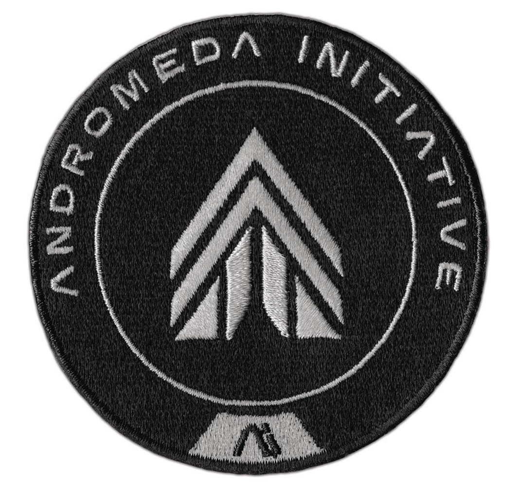 Image: Mass Effect Andromeda Embroidered Patch: APEX Force  - Dark Horse Comics