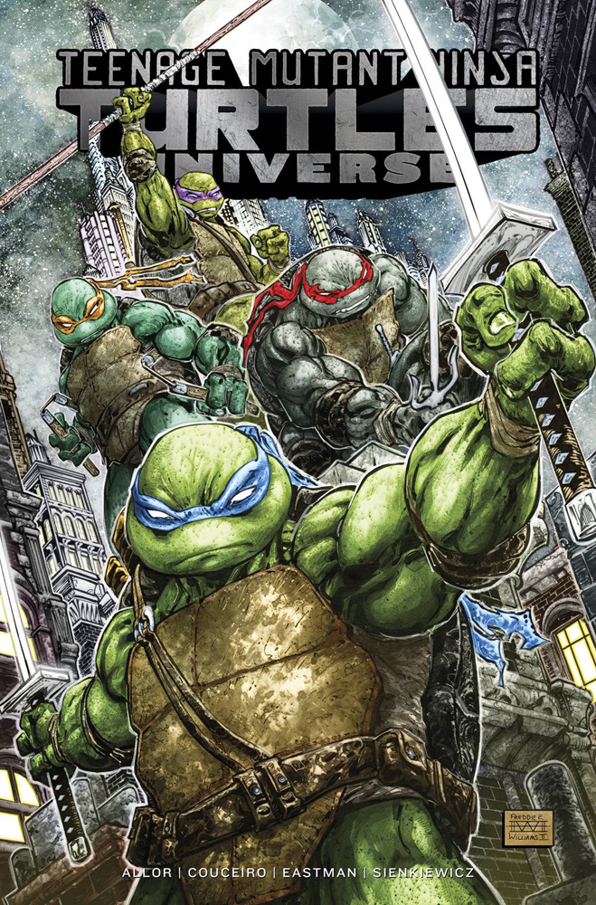 Image: Teenage Mutant Ninja Turtles Universe Vol. 01: The War to Come SC  - IDW Publishing
