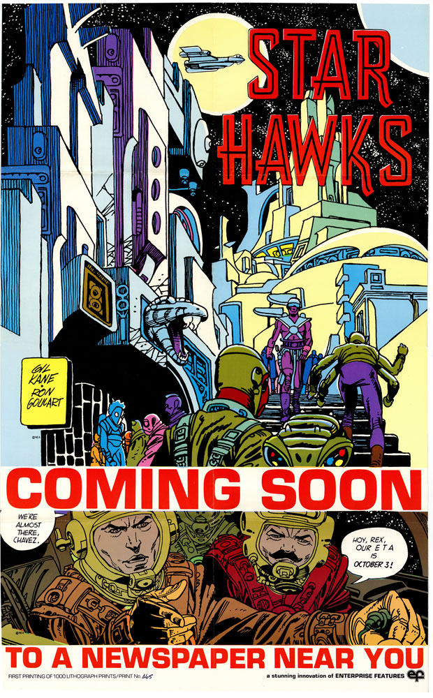 Star Hawks Vol. 01: 1977-1978 HC  - IDW Publishing