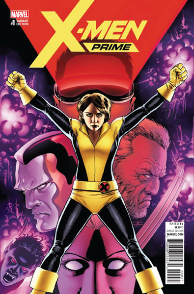 Image: X-Men Prime #1 (variant cover - Cassaday)  [2017] - Marvel Comics