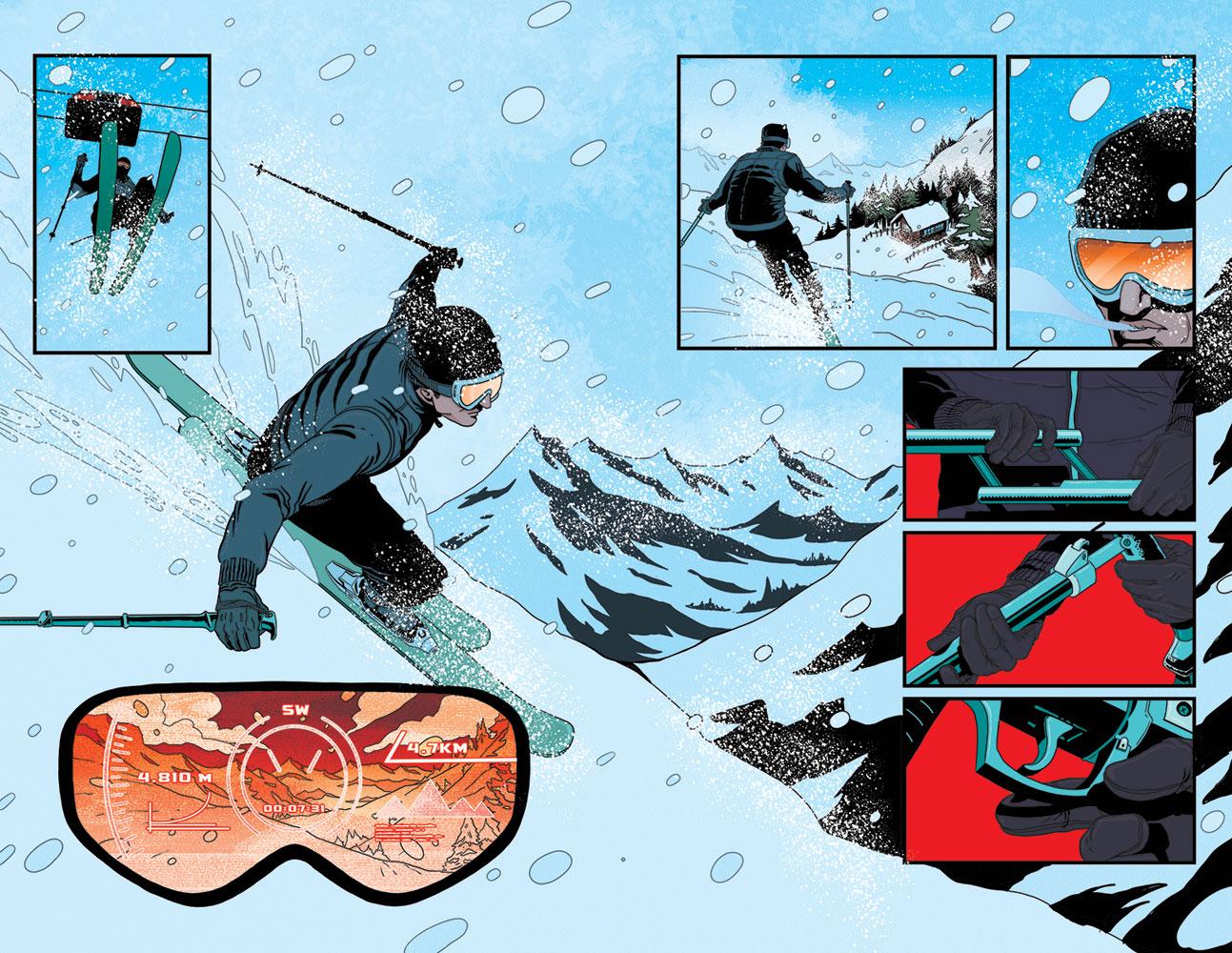 James Bond Vol. 02 #1 (Lobosco Artboard incentive cover - 01061) (10-copy)  [2017] - Dynamite
