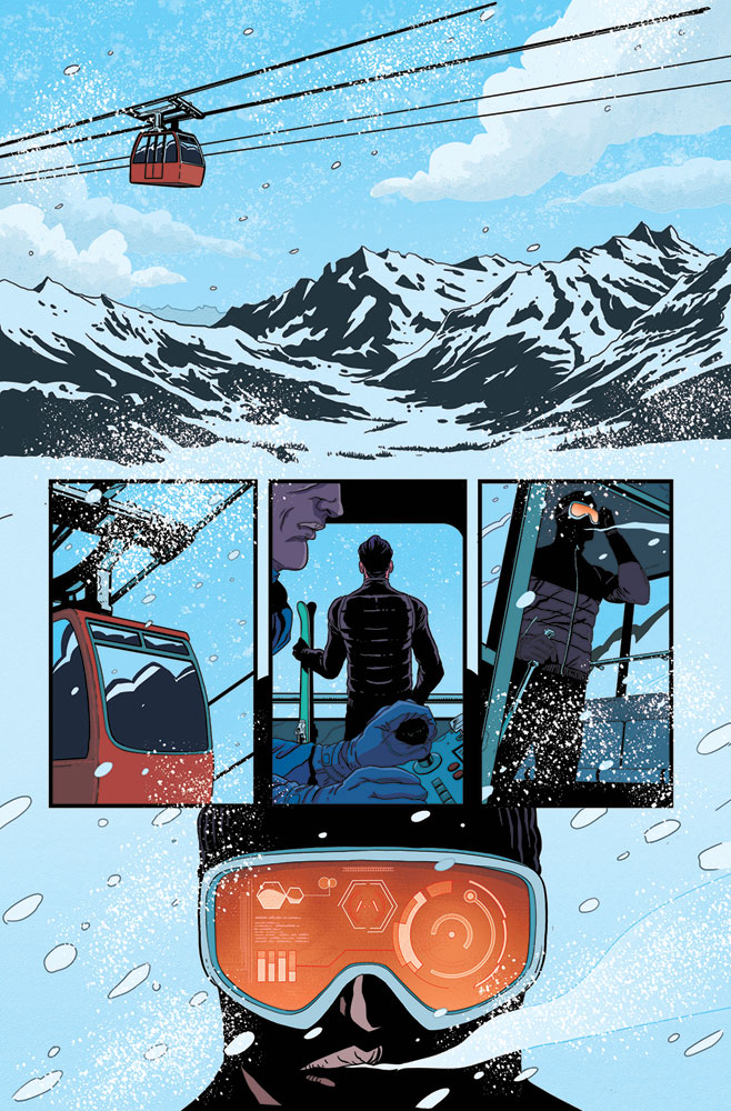 James Bond Vol. 02 #1 (Masters b&w incentive cover - 01071) (20-copy)  [2017] - Dynamite
