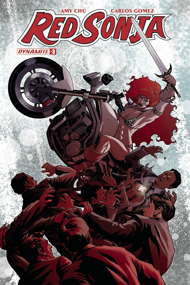 Image: Red Sonja Vol. 04 #3 (cover A - McKone)  [2017] - Dynamite
