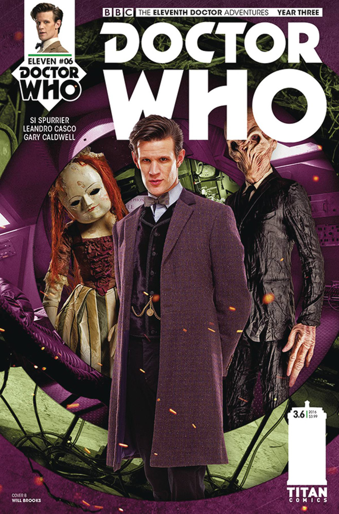 Image: Doctor Who: 11th Doctor - Year Three #6 (cover B - Photo)  [2017] - Titan Comics