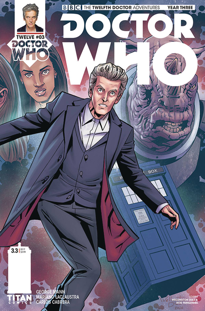 Image: Doctor Who: The 12th Doctor - Year Three #3 (cover A - Diaz)  [2017] - Titan Comics