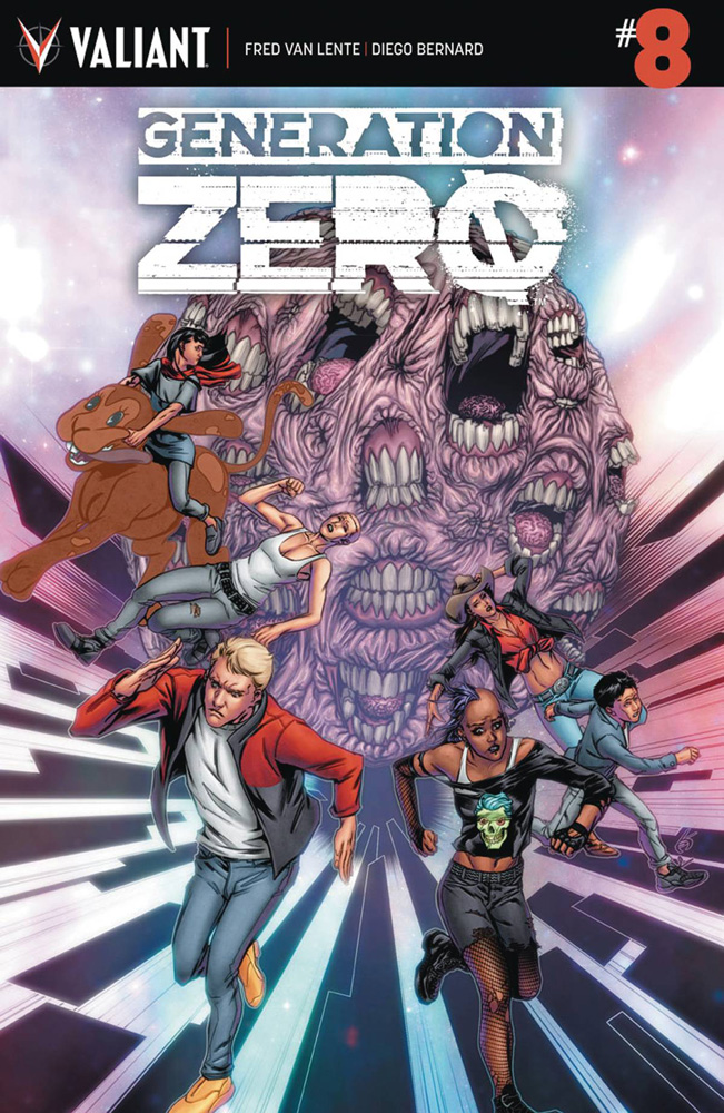 Image: Generation Zero #8 (cover A - Evans)  [2017] - Valiant Entertainment LLC