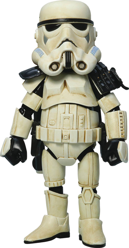 Image: Star Wars Action Figure: HMF-019C Sandtrooper  (w/Black Pauldron) - Hero Cross Co. Ltd