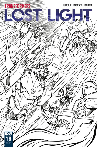 Image: Transformers: Lost Light #16 (incentive cover - Alex Milne) (10-copy)  [2018] - IDW Publishing
