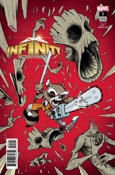 Image: Infinity Countdown #1 (Legacy) (variant cover - Duarte)  [2018] - Marvel Comics