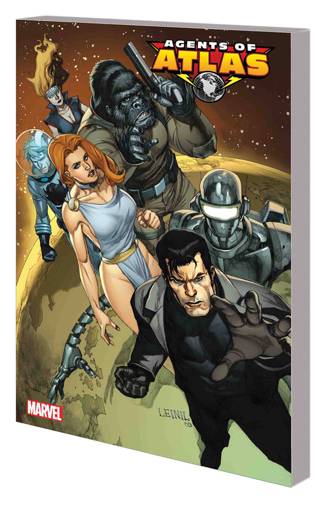 Image: Agents of Atlas: The Complete Collection Vol. 01 SC  - Marvel Comics