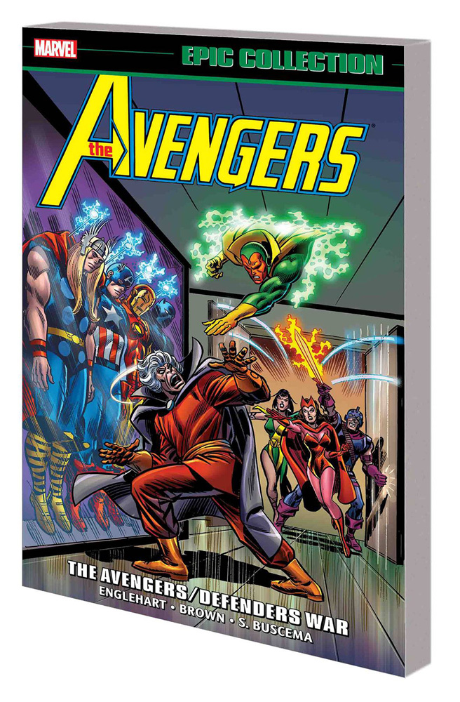 Image: Avengers Epic Collection: The Avengers / Defenders War SC  - Marvel Comics