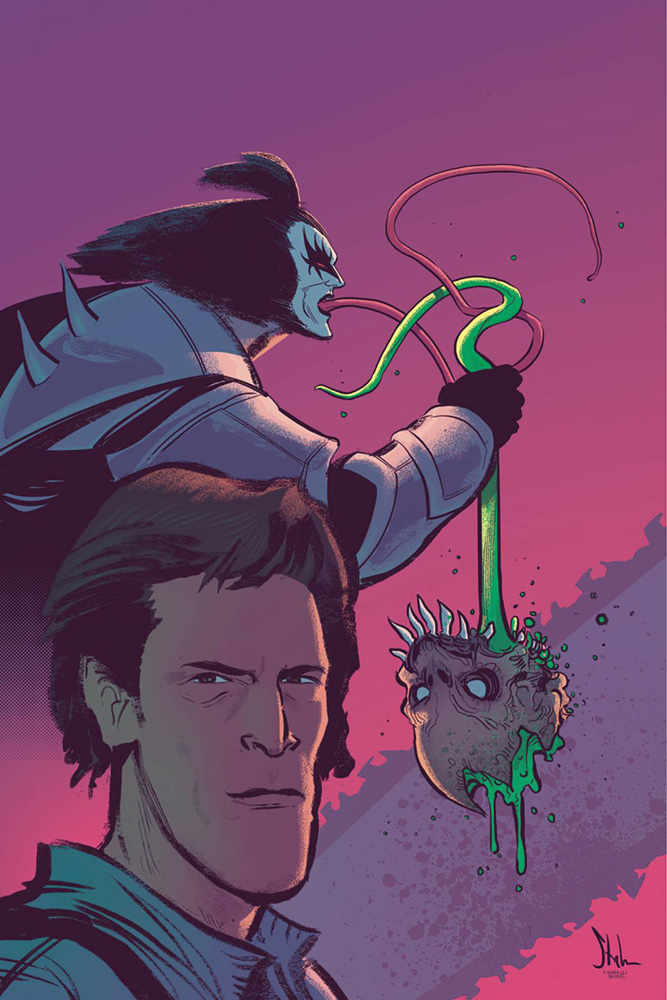Image: KISS The Army of Darkness #2 (cover D incentive - Strahm virgin) (10-copy)  [2018] - Dynamite