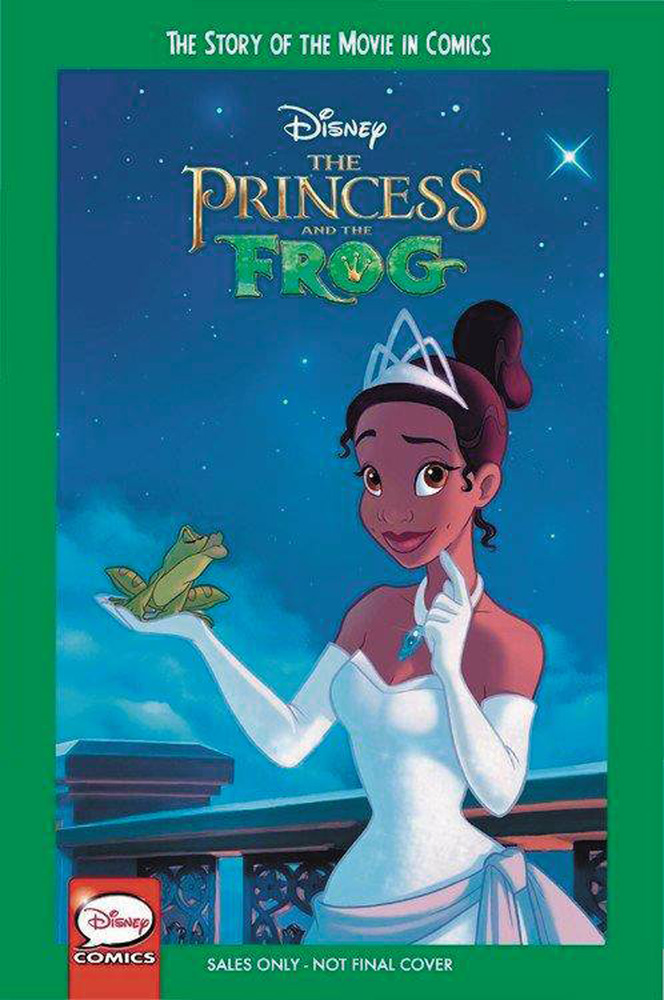 Image: Disney Princess and the Frog: The Story of the Movie in Comics SC  - Joe Books