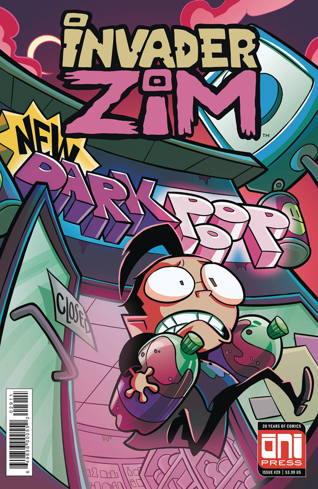 Image: Invader Zim #29 (cover A - Maddie C.)  [2018] - Oni Press Inc.