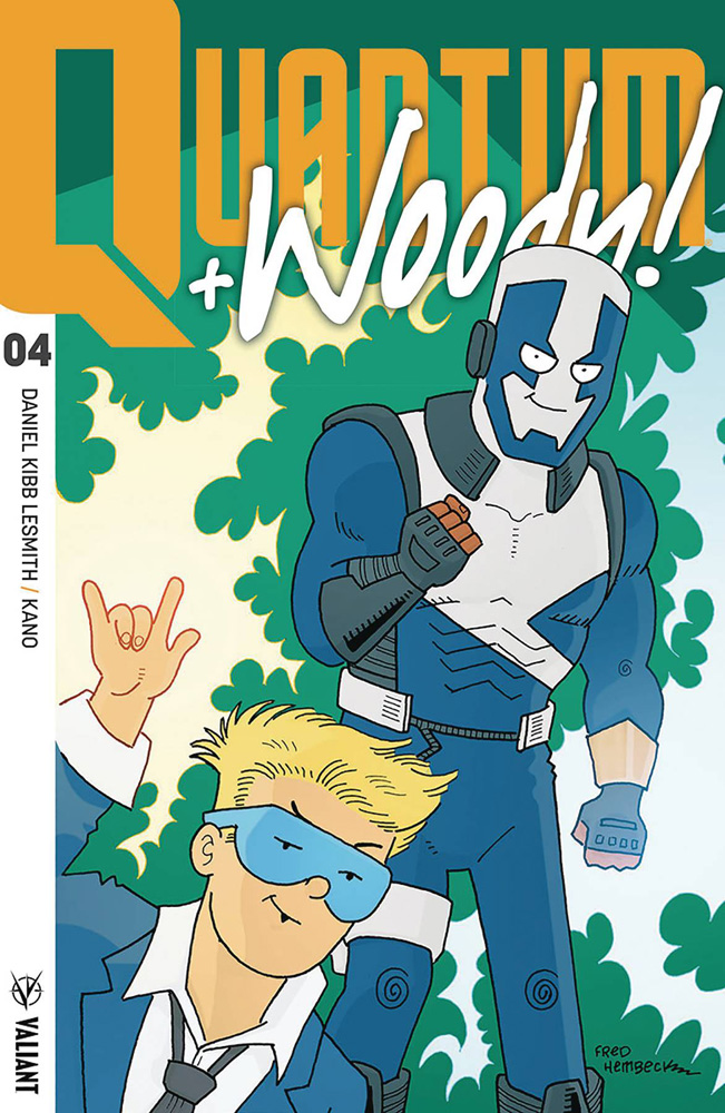 Image: Quantum and Woody [2017] #4 (cover D incentive - Hembeck) (50-copy)  [2018] - Valiant Entertainment LLC