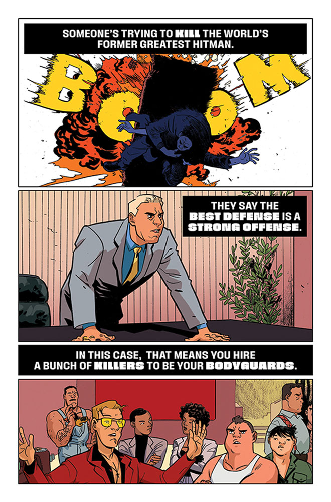 Assassin Nation #1  [2019] - Image Comics