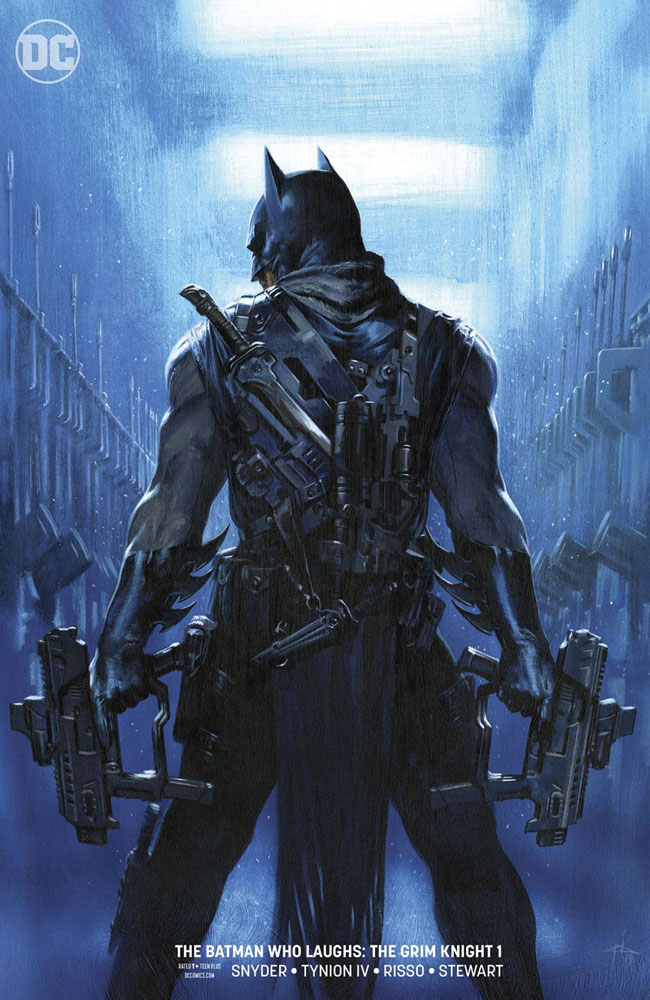 Image: Batman Who Laughs: The Grim Knight #1 (variant cover - Gabriele Dell'Otto) - DC Comics