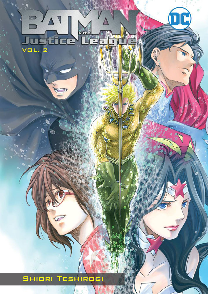 Image: Batman & the Justice League Manga Vol. 02 SC  - DC Comics