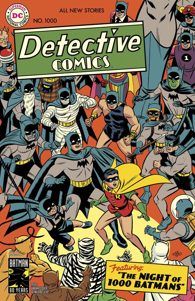 9d9fd2de43 Detective Comics #1000 (variant cover - 1950s / Michael Cho) [2019 ...
