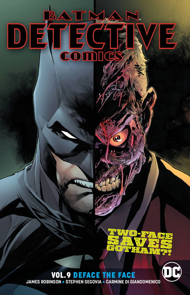 Image: Batman: Detective Comics Vol. 09: Deface the Face SC  - DC Comics