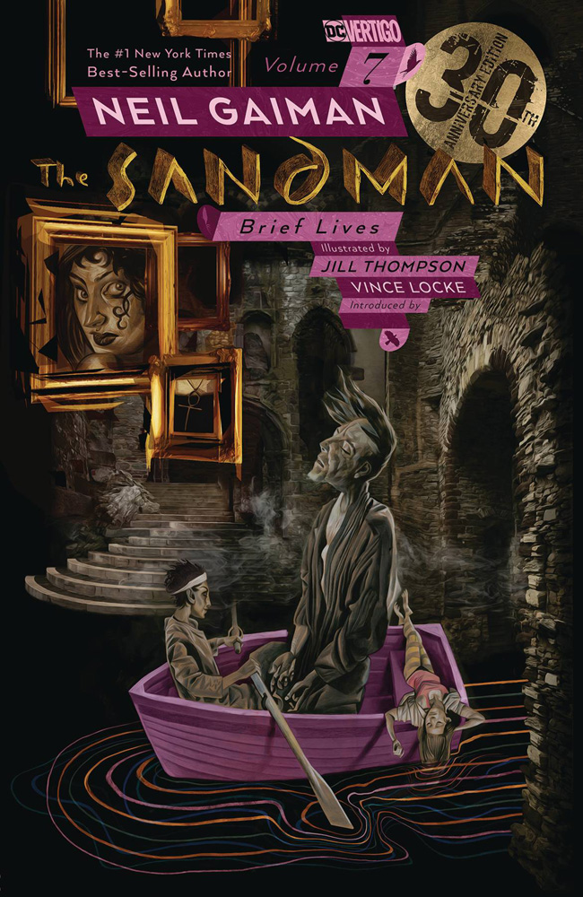 Image: Sandman Vol. 07: Brief Lives 30th Anniversary Edition SC  - DC Comics