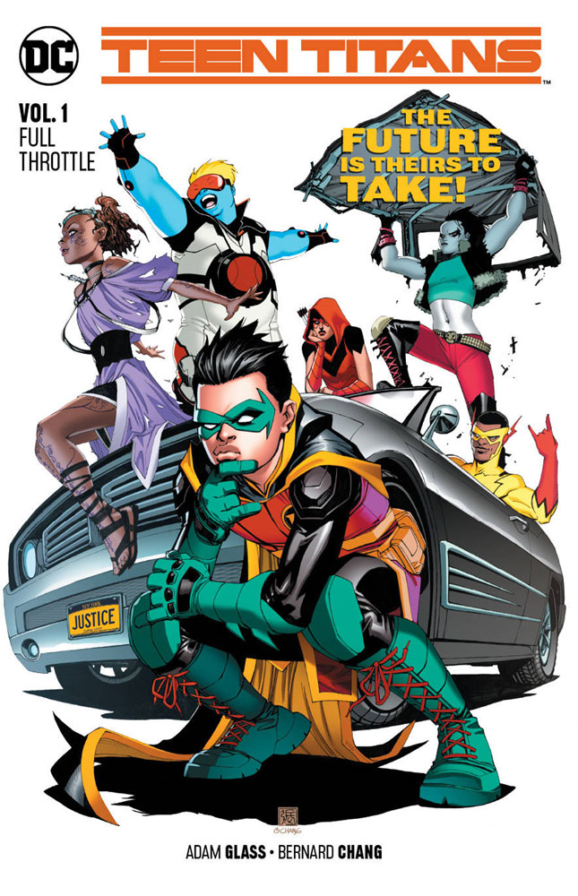 Image: Teen Titans Vol. 01: Full Throttle SC  - DC Comics