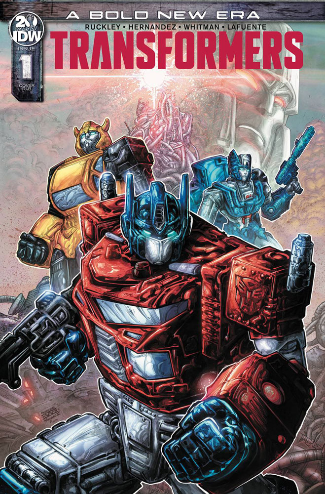 Transformers #1 Freddie Williams cover